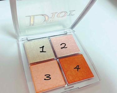 ディオール バックステージ フェイス グロウ パレット/Dior/プレストパウダーを使ったクチコミ(2枚目)