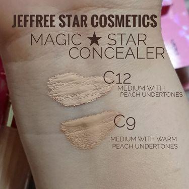Magic Star Liquid Concealer/Jeffree Star Cosmetics/コンシーラーを使ったクチコミ(2枚目)