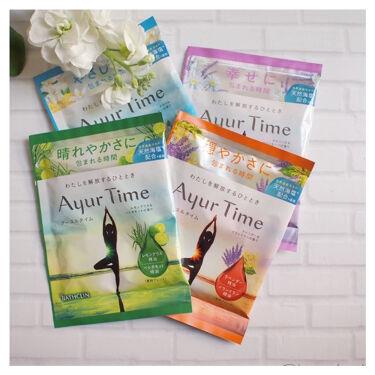 Ayur Time(アーユルタイム)/アーユルタイム/入浴剤を使ったクチコミ(1枚目)