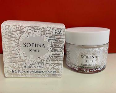 混合肌のための高保湿ジェル乳液/ソフィーナ ジェンヌ/乳液を使ったクチコミ(1枚目)