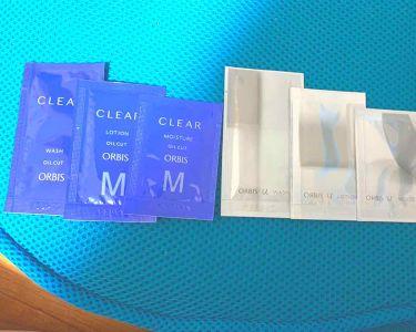 薬用 クリアローション M(しっとりタイプ)/ORBIS/化粧水を使ったクチコミ(1枚目)