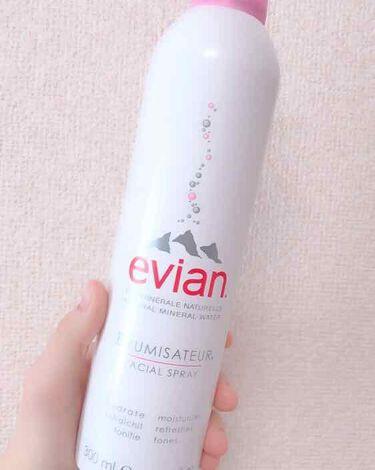 Lunaさんの「evianAFFINITYエビアン フェイシャルスプレー<ミスト状化粧水>」を含むクチコミ