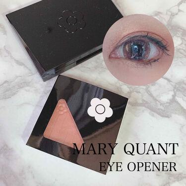 アイオープナー/MARY QUANT/パウダーアイシャドウを使ったクチコミ(1枚目)