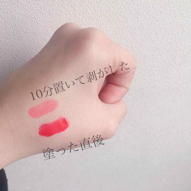 チューシー  ミニティント  LP35/サンスマイル/口紅を使ったクチコミ(2枚目)