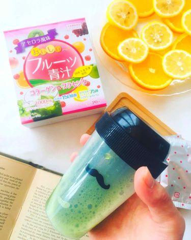 おいしいフルーツ青汁/その他/ドリンクを使ったクチコミ(3枚目)