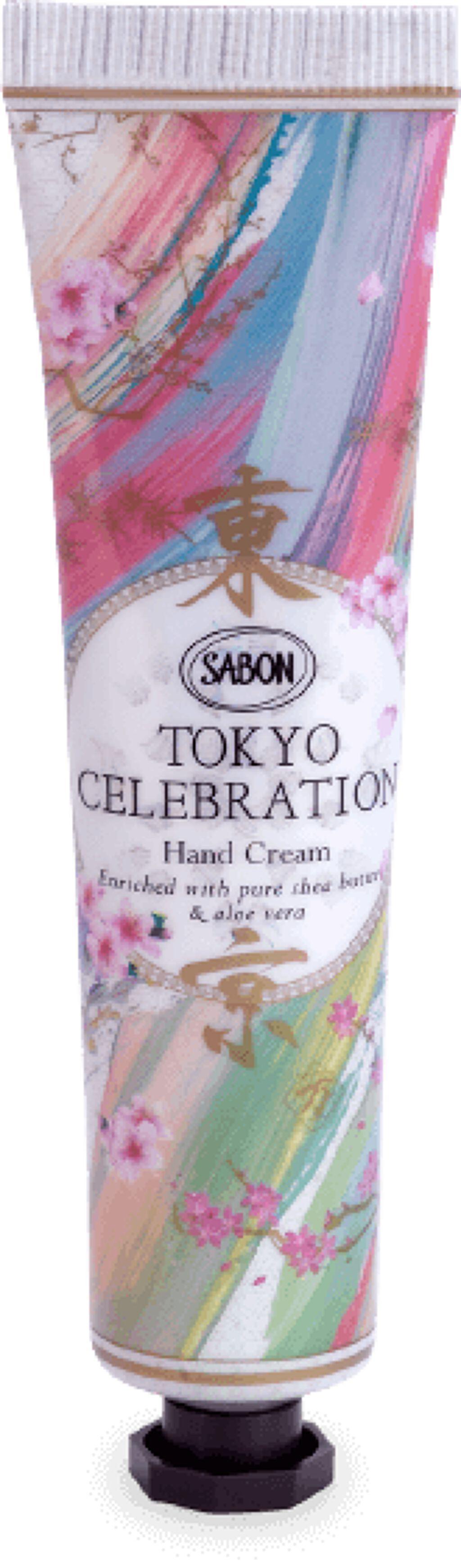 ハンドクリーム TOKYO CELEBRATION SABON