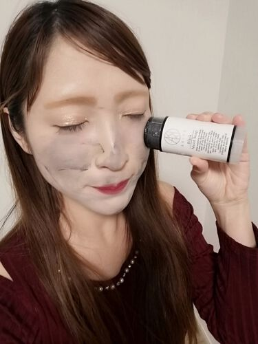 ブラックモイストソープ/AKIKO/洗顔石鹸を使ったクチコミ(3枚目)