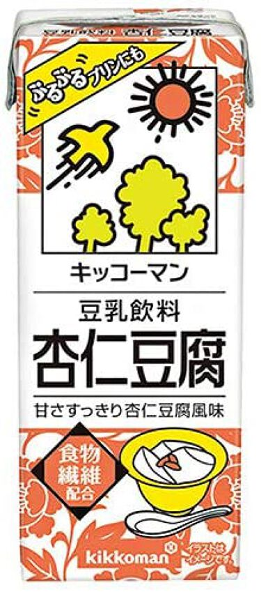 豆乳飲料 杏仁豆腐 キッコーマン飲料