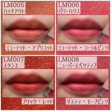 ムードインハンサーリキッドマット/hince/口紅を使ったクチコミ(3枚目)