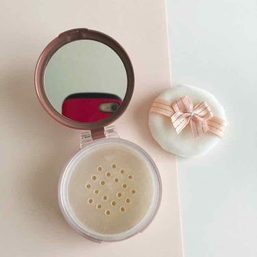 ミラー付きパウダーケース/ロージーローザ/その他化粧小物を使ったクチコミ(2枚目)