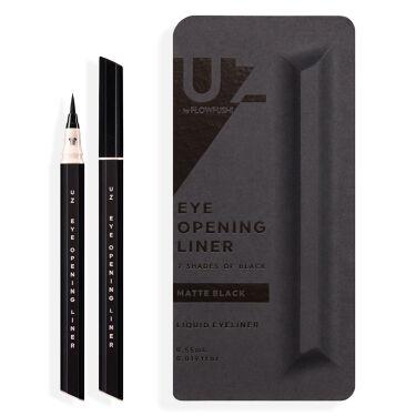 UZU EYE OPENING LINER 7 SHADES OF BLACK MATTE-BLACK