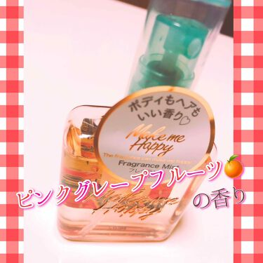 メイクミーハッピー フレグランスミスト/CANMAKE/香水(レディース)を使ったクチコミ(3枚目)