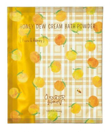 ワンダーハニー とろとろふんわりクリームバス  柚子はちみつ