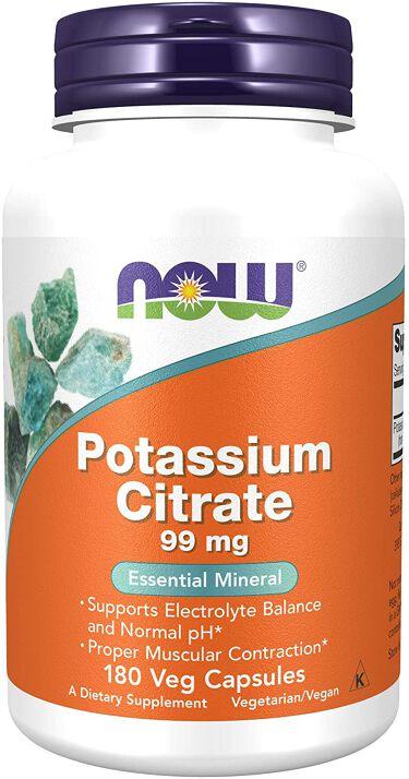 クエン酸カリウム 99mg Now Foods