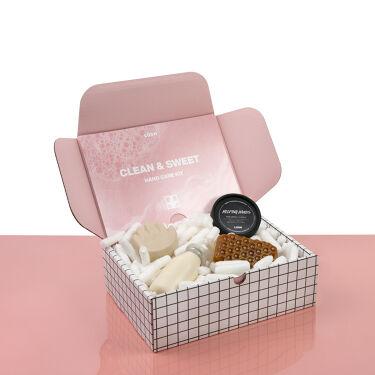 Hand Care Kit 『Clean & Sweet』/ラッシュ/スキンケアキットを使ったクチコミ(2枚目)