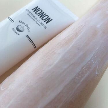 NONON/NONON(ノンノン)/除毛クリームを使ったクチコミ(4枚目)