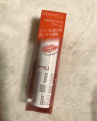 ラスティングフィニッシュ ティントリップ/リンメル/口紅を使ったクチコミ(3枚目)