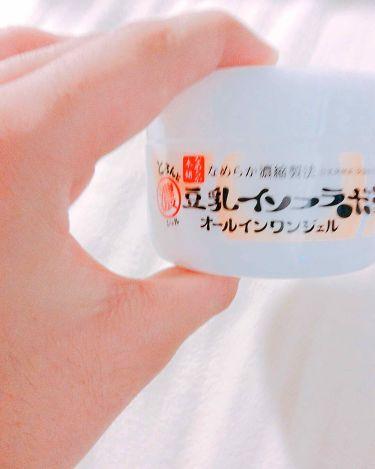 とろんと濃ジェル/なめらか本舗/オールインワン化粧品を使ったクチコミ(2枚目)