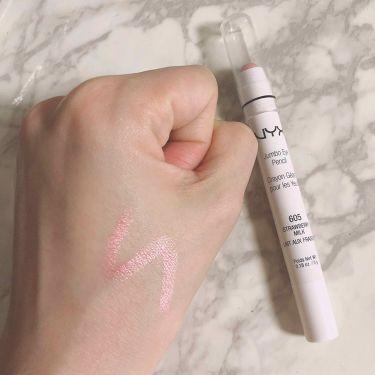 ジャンボ アイ ペンシル/NYX Professional Makeup/パウダーアイシャドウを使ったクチコミ(2枚目)