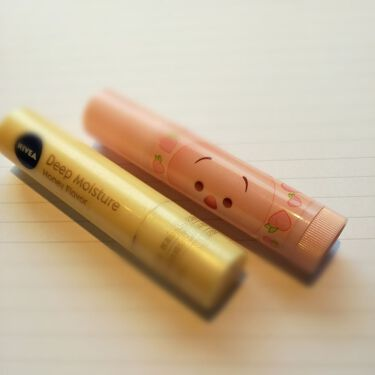 ニベア ディープモイスチャーリップ はちみつの香り/ニベア/リップケア・リップクリームを使ったクチコミ(1枚目)