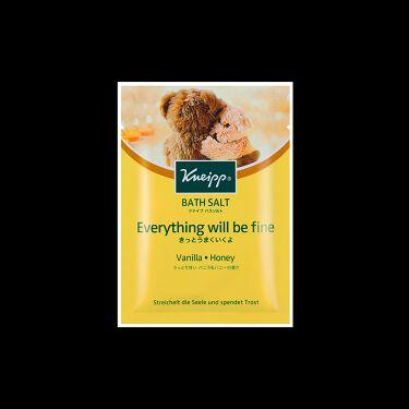 クナイプ バスソルト バニラ&ハニーの香り クナイプ