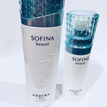 高保湿化粧水<美白> しっとり/ソフィーナ ボーテ/化粧水を使ったクチコミ(1枚目)
