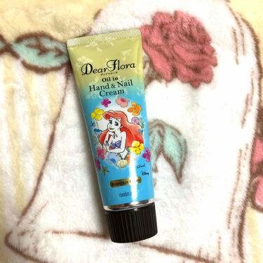 【画像付きクチコミ】♡こんにちは☺️マンダム ディアフローラ オイルインハンド&ネイルクリームPロマンスピオニーを紹介します!♡純粋でキュートな ロマンスピオニーの香りです☺️さっぱり、爽やかな香りで旦那にも好評でした♡クリームは白色で硬くもなく柔らかく...