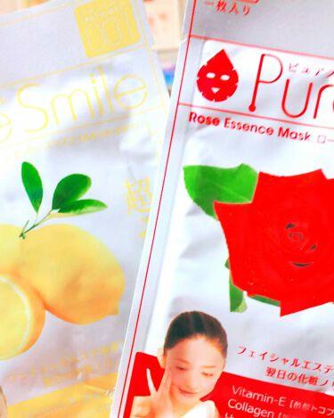 美希✨さんの「Pure Smile(ピュアスマイル)ローズエキス<シートマスク・パック>」を含むクチコミ