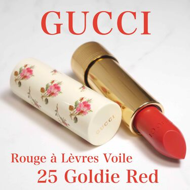 GUCCI Rouge a Levres Voile/GUCCI/口紅を使ったクチコミ(1枚目)