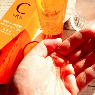Cvita Bright Up Lotion/桃谷順天館/化粧水を使ったクチコミ(3枚目)