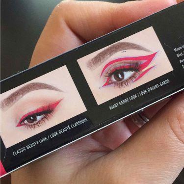 ビビッドブライト アイライナー/NYX Professional Makeup/リキッドアイライナーを使ったクチコミ(3枚目)