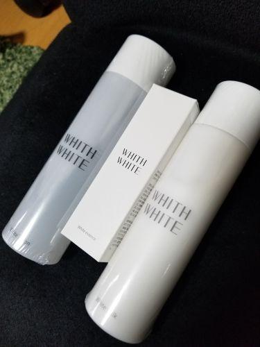 乳液/WHITH WHITE/乳液を使ったクチコミ(1枚目)