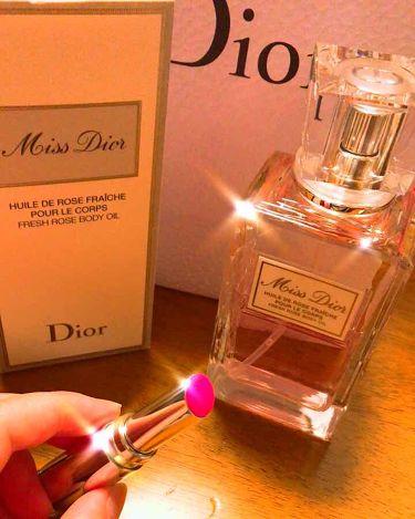 ミスディオールボディオイル/Dior/ボディ保湿を使ったクチコミ(1枚目)