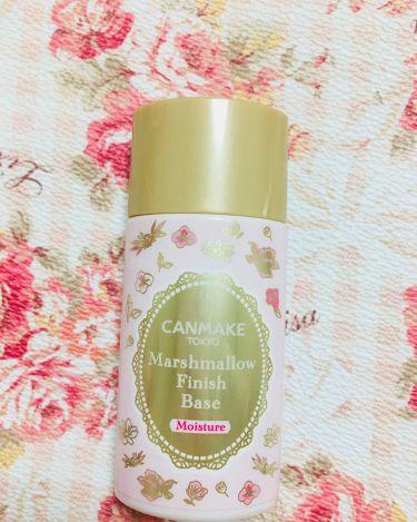 マシュマロフィニッシュベース M/CANMAKE/化粧下地を使ったクチコミ(1枚目)