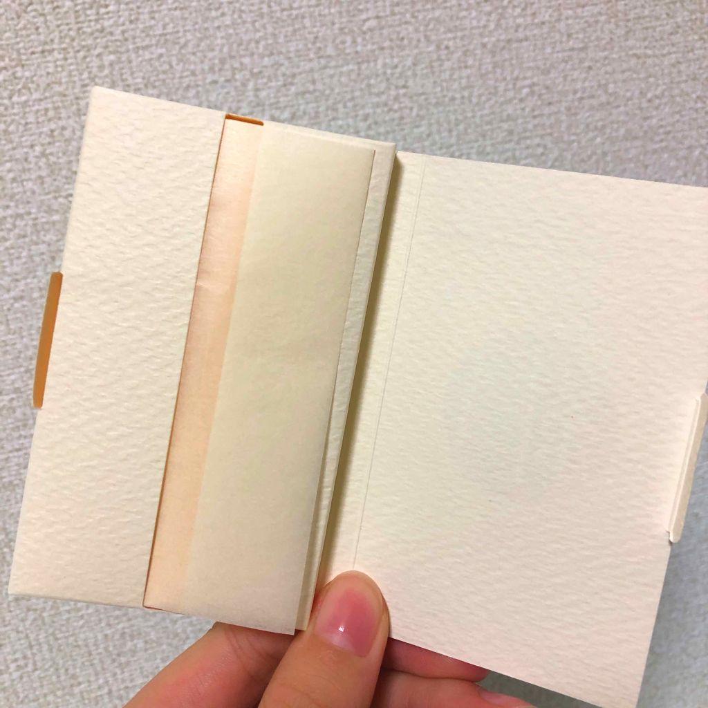 DAISO吸油面紙絹絲抽取式包裝