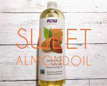 Sweet Almond Oil/Now Foods/フェイスオイルを使ったクチコミ(1枚目)