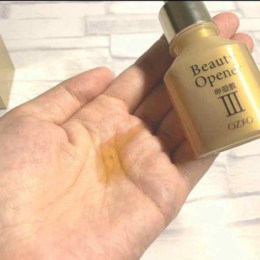 ビューティーオープナー|オージオの効果に関する口コミ「洗顔後の肌に最初に使うとろりとした濃い美容..」 by きなこの | LIPS