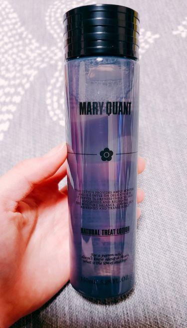 ナチュラル トリート ローション/MARY QUANT/化粧水を使ったクチコミ(1枚目)