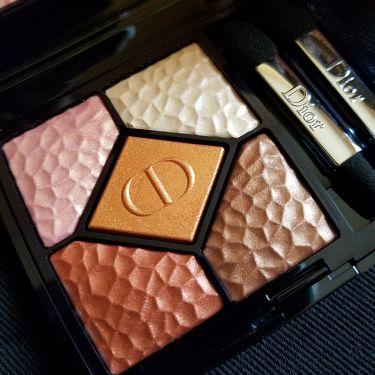 サンク クルール<ワイルド アース>/Dior/パウダーアイシャドウを使ったクチコミ(2枚目)