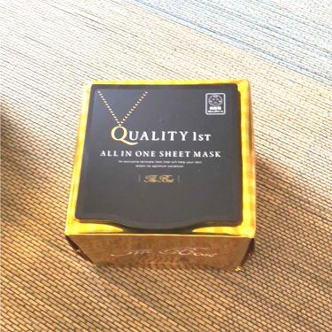 森のバターさんの「クオリティファーストオールインワンシートマスクTB  EX  BOX<シートマスク・パック>」を含むクチコミ
