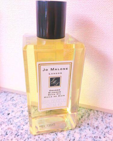 友稀サナ🐶사나さんの「Jo MALONE LONDON(ジョー マローン ロンドン)バスオイル<入浴剤>」を含むクチコミ