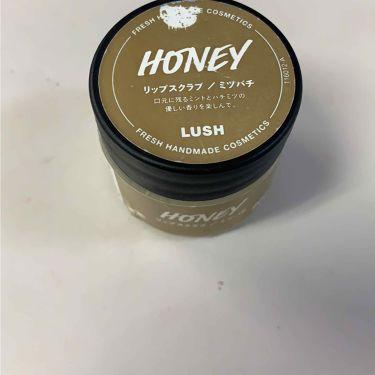 ミツバチ リップスクラブ/ラッシュ/リップケア・リップクリームを使ったクチコミ(1枚目)