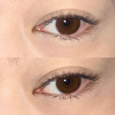 ゴージャスアイズのゴージャスゴールド、左上の白ラメカラーを涙袋にオン。 ナチュラルかつぷっくりと立体的に見せてくれる優秀カラーです。