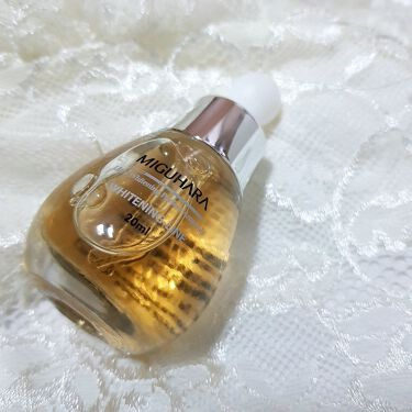 Ultra Whitening Perfect Ampoule/MIGUHARA/美容液を使ったクチコミ(1枚目)