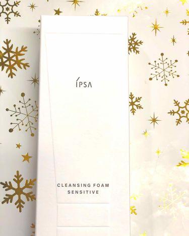 クレンジングフォーム センシティブ/IPSA/洗顔フォームを使ったクチコミ(1枚目)