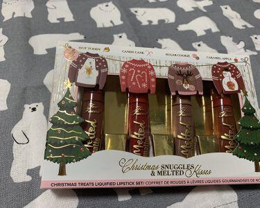 【画像付きクチコミ】クリスマスコフレ 第2弾TooFacedクリスマスメルテッドキスリキッドリップスティックセット前回に引き続きTooFaced購入しました!今回でクリスマスのお買い物は終了…というか我慢wパッケージがね可愛かったからね、買っちゃいました...