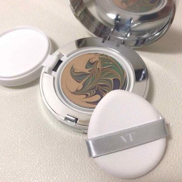 VT コラーゲンパクト/VT Cosmetics/その他ファンデーションを使ったクチコミ(2枚目)