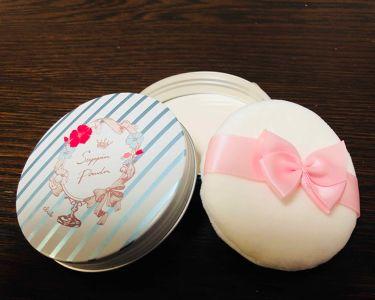 すっぴんパウダーA リゾートハイビスカスの香り/クラブ/プレストパウダーを使ったクチコミ(3枚目)