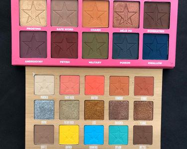 Androgyny Eyeshadow Palette/Jeffree Star Cosmetics/パウダーアイシャドウを使ったクチコミ(1枚目)