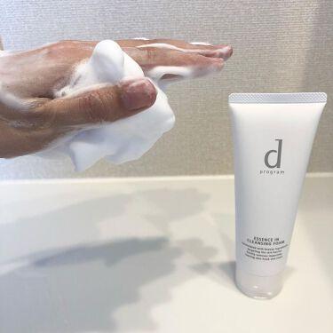 エッセンスイン クレンジングフォーム/d プログラム/洗顔フォームを使ったクチコミ(6枚目)